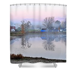 Still Waters On Stoneledge Lake Shower Curtain