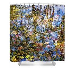 Stillness Holds Everything Shower Curtain