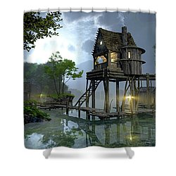 Stillwater Shower Curtain