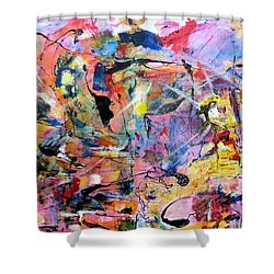 Stimuli Shower Curtain