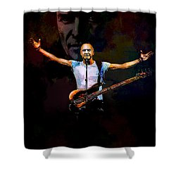 Sting 1 Shower Curtain