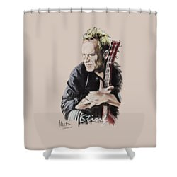 Sting Shower Curtain by Melanie D