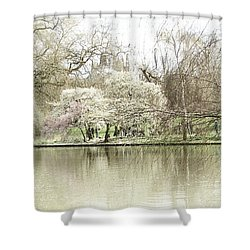 St. James Park London Shower Curtain