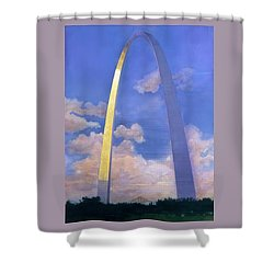St.louis Gateway Arch Shower Curtain