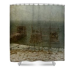 Stockfish Dryers Shower Curtain