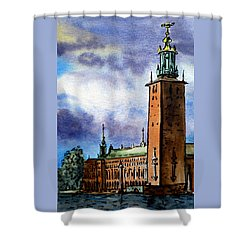 Stockholm Sweden Shower Curtain