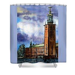 Stockholm Sweden Shower Curtain