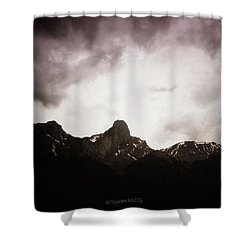 Stockhorn Shower Curtain by Mimulux patricia no No