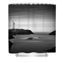 Stokksnes Lighthouse Shower Curtain