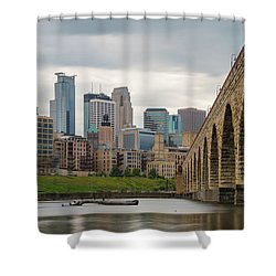 Stone Arch Minneapolis Shower Curtain