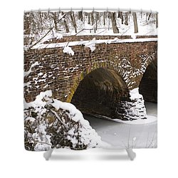 Stone Bridge At Bullrun Virginia Shower Curtain