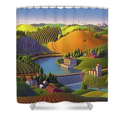 Stone City West Shower Curtain