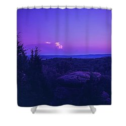Stone Cloud Sky Cloud Shower Curtain