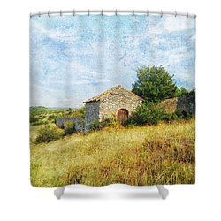 Provence Countryside Shower Curtain