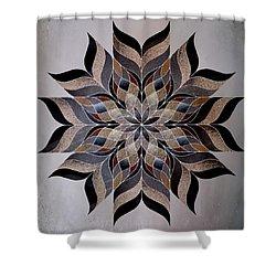 Stone Mandala Shower Curtain