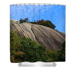 Stone Mountain Shower Curtain by Kathryn Meyer
