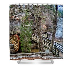 Stone Mountain Park In Atlanta Georgia Shower Curtain