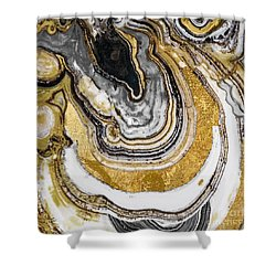 Stone Prose Shower Curtain