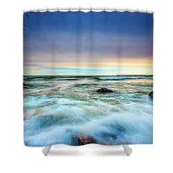 Stone Rush Shower Curtain