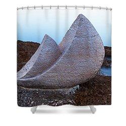 Stone Sails Shower Curtain