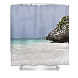 Shower Curtain featuring the photograph Stone Turtle by Glenn Gordon