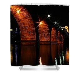 Stonearch Bridge - Minneapolis Shower Curtain
