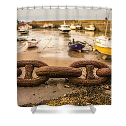 Stonehaven Chain Shower Curtain