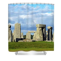 Shower Curtain featuring the photograph Stonehenge 6 by Francesca Mackenney