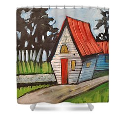 Stonewall Cottage Shower Curtain by Tim Nyberg
