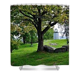 Stony Point Landscape Shower Curtain