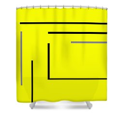 Stop It Shower Curtain
