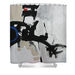 Stop The Train Shower Curtain