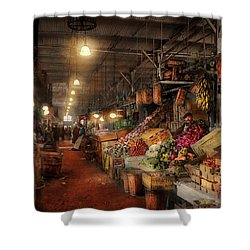 Shower Curtain featuring the photograph Store - Grocery - The First Superstore 1922 by Mike Savad