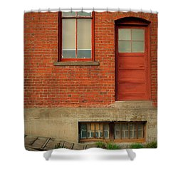 Stores Building Shower Curtain