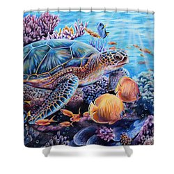 Stories I Tell Shower Curtain