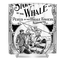 Stories Of The Whale Shower Curtain by Granger