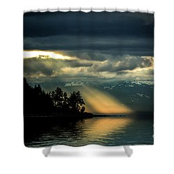 Storm 2 Shower Curtain by Elaine Hunter