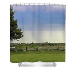 Storm At 258.6 Shower Curtain