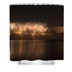Storm Before Dawn Shower Curtain