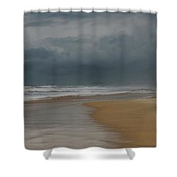Storm Brewing On The Gold Coast Shower Curtain