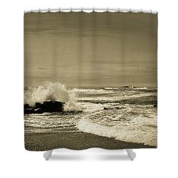 Shower Curtain featuring the photograph Storm Brewing by Samuel M Purvis III