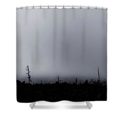 Shower Curtain featuring the photograph Storm by Cat Connor