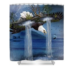 Storm Catcher Shower Curtain