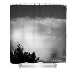 Storm Cloud Shower Curtain by Juergen Weiss