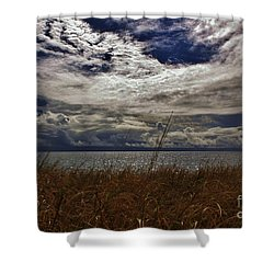 Shower Curtain featuring the photograph Storm Clouds by Craig Wood
