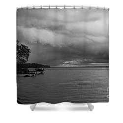 Storm Clouds Shower Curtain by William Norton