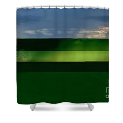 Shower Curtain featuring the photograph Storm Comin' by Joan Bertucci