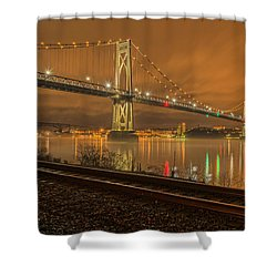 Storm Crossing Shower Curtain