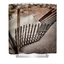 Storm Fence Series No. 2 Shower Curtain