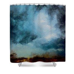 Storm Fields Shower Curtain